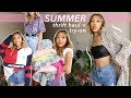 A CUTE SUMMER TRY-ON THRIFT HAUL ☆ 2000s & 90s trends, vintage pieces + new favorites!
