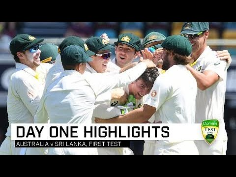 Aussies on top early at the Gabba | First Domain Test Mp3