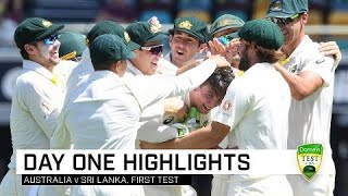 Aussies on top early at the Gabba | First Domain Test