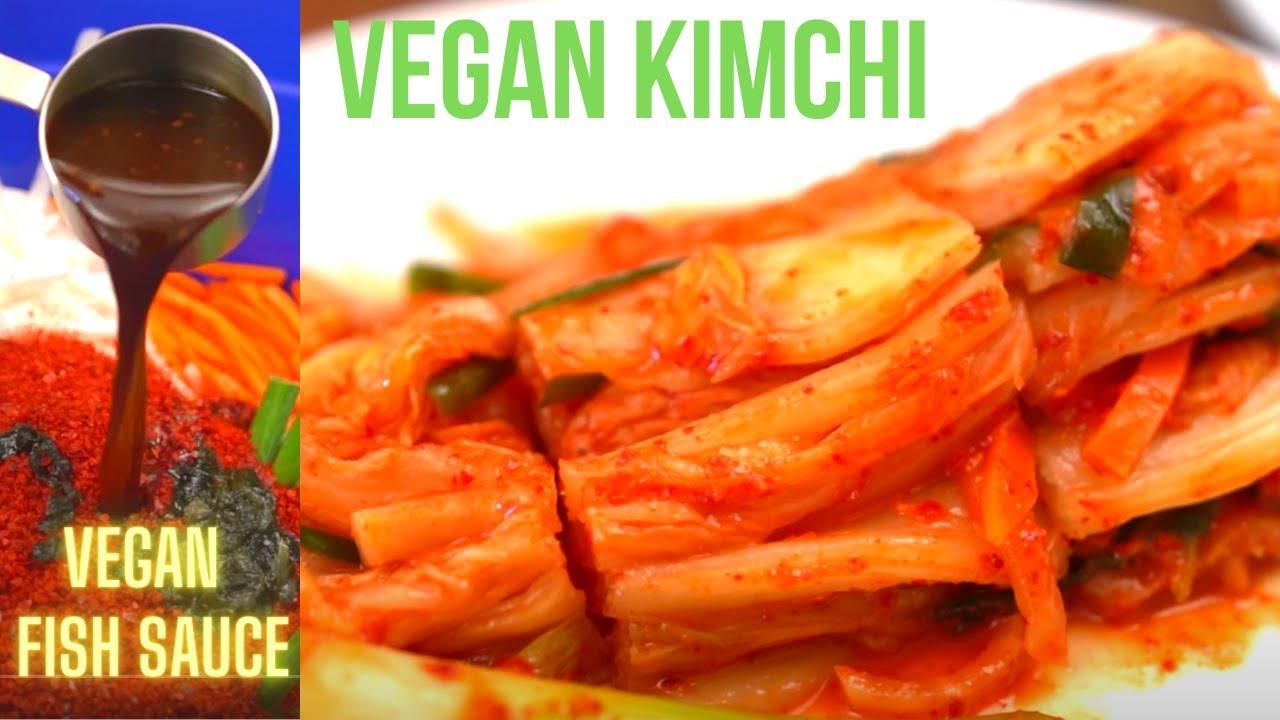 KIMCHI: Vegan Kimchi AUTHENTIC Recipe [VEGAN Fish Sauce] Chaesik-Kimchi (채식김치 레시피) EASY SMALL BATCH