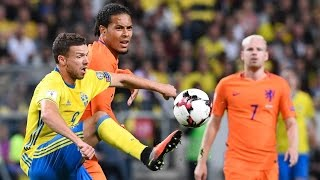Sweden 1:1  Netherlands ~ world Cup 2018 ~ 06.09.2016