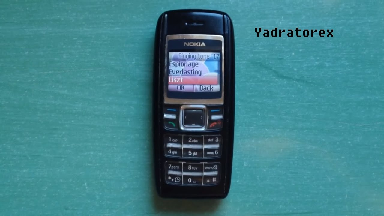 Nokia 1600 retro review (old ringtones, themes & games)