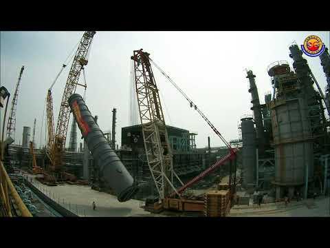 啟德 - 大林浦煉油廠反應爐吊掛