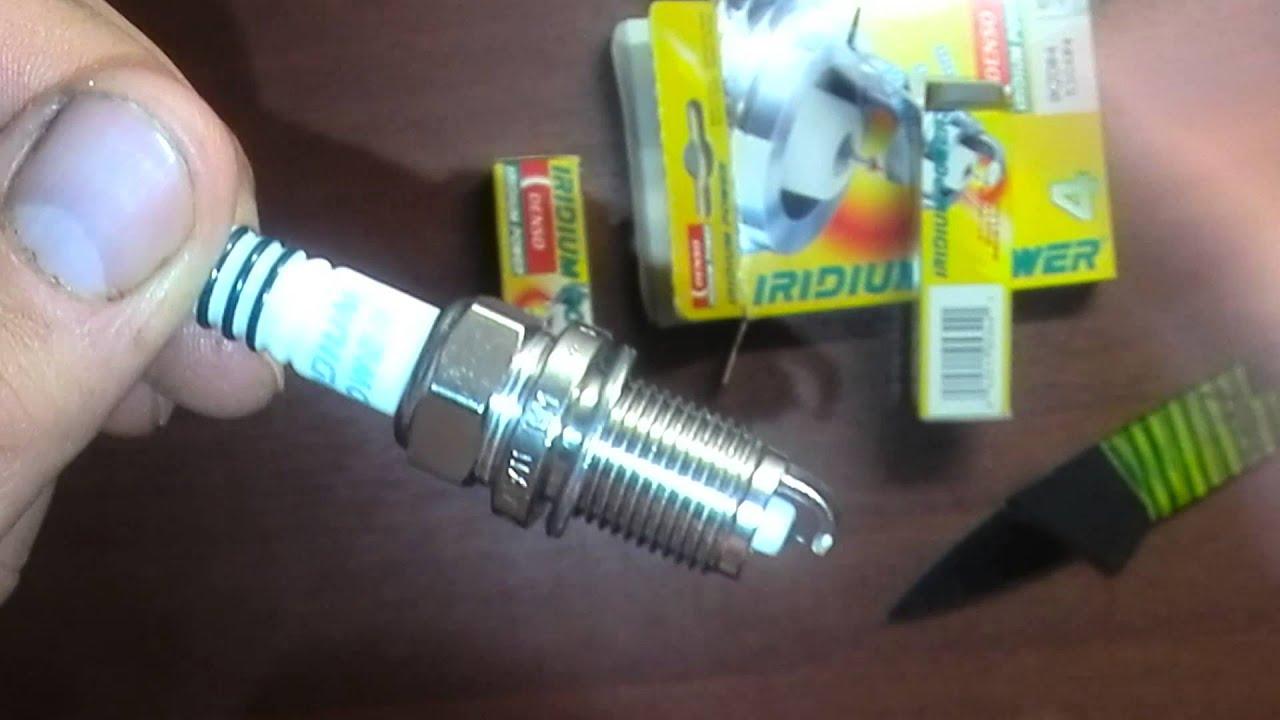 Как заменить свечи зажигания @ DENSO iridium TT