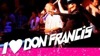 DON FRANCIS - LLORET DE MAR HYMNE (LIVE @ THOMAS READ, HAMBURG)
