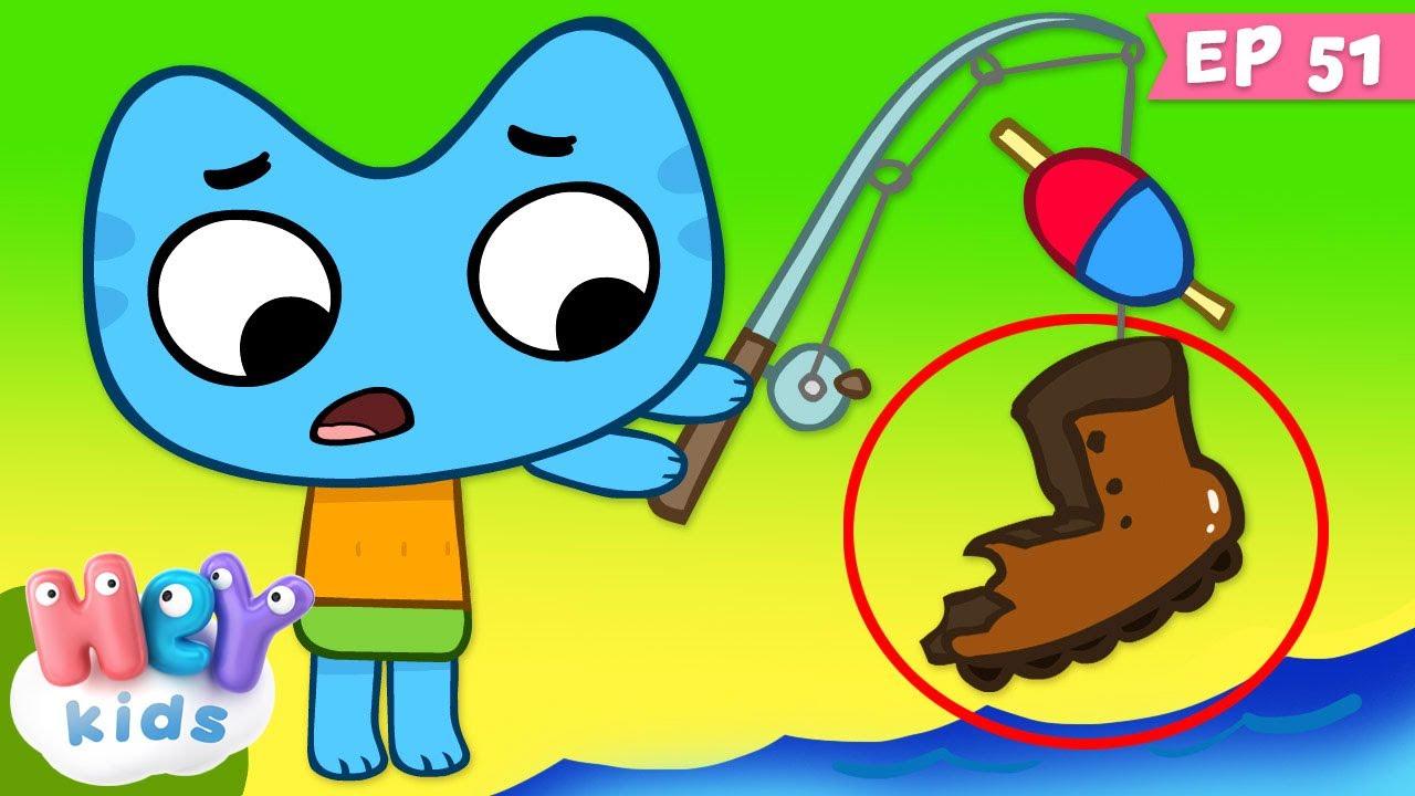 Kit și Keit: E rost de pește   Desene animate   HeyKids
