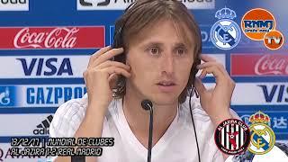 Declaraciones de MODRIC Al Jazira 1-2 Real Madrid Semifinal Mundial de Clubes 2017 (13/12/2017)