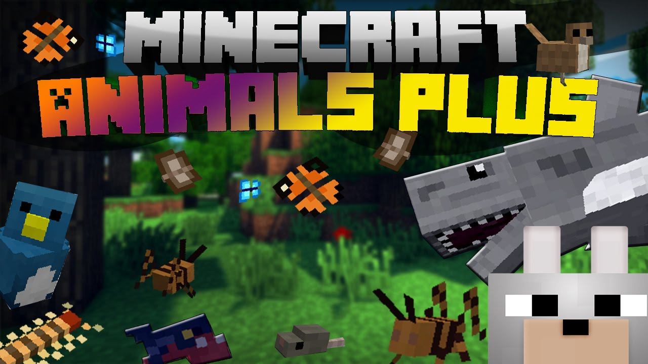 Animaux Minecraft minecraft mods - animal plus 1.7.10 review (sharks, snakes, whales