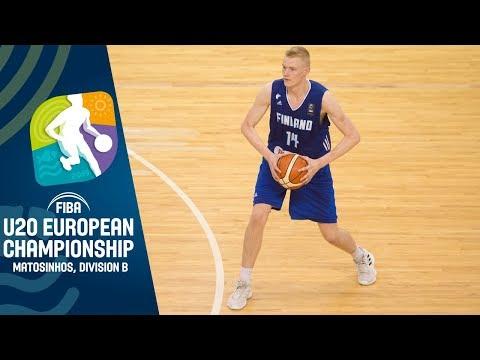 Finland v Hungary - Full Game - FIBA U20 European Championship Division B 2019