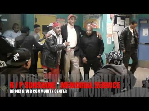 R I P SUNSHINE'S MEMORIAL SERVICE - BRONX RIVER COMMUNITY CENTER
