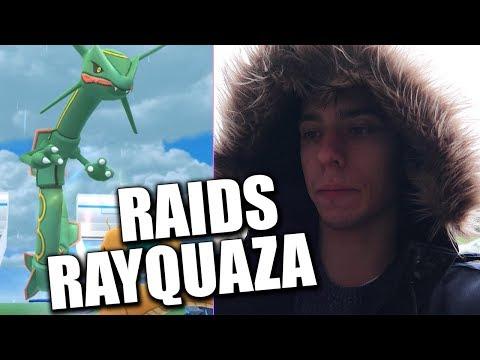 J'AI ENFIN RAYQUAZA ! - POKÉMON GO thumbnail