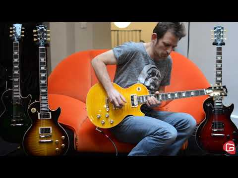 Test Guitare Gibson Slash Les Paul Standard