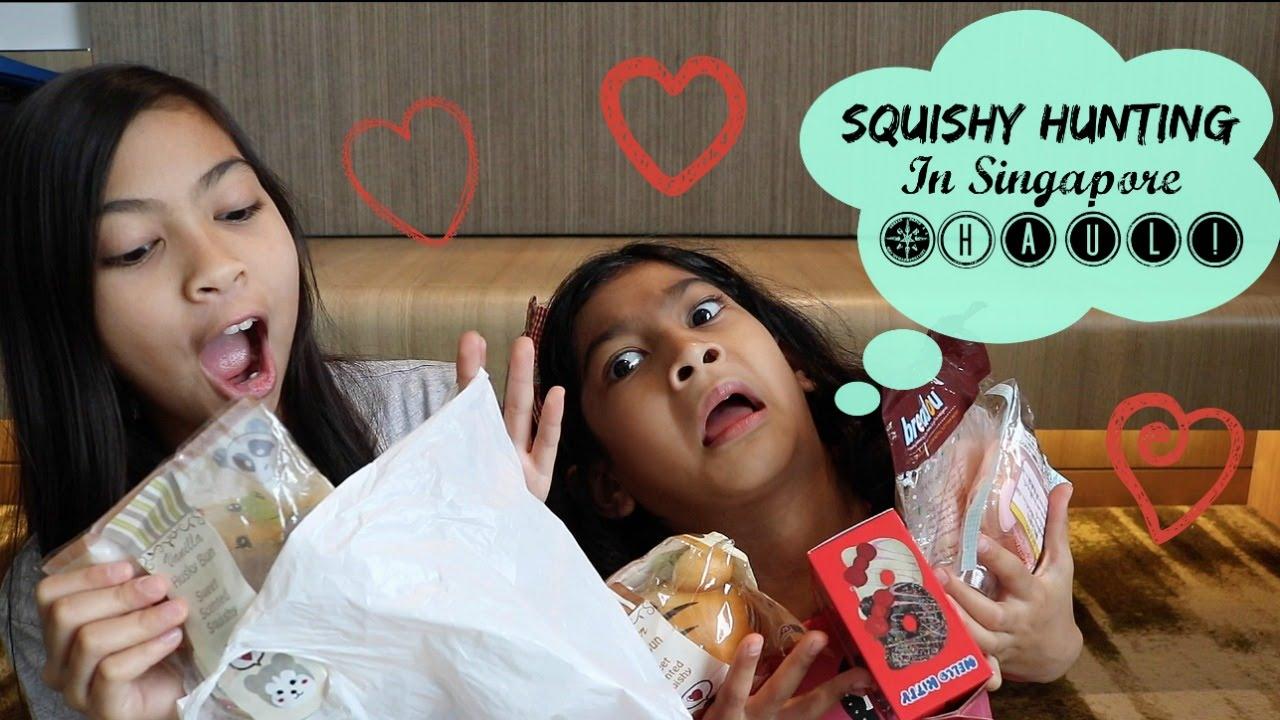 Squishy Hunting : Squishy Hunting In Singapore + Haul! (VLOG #3) - YouTube