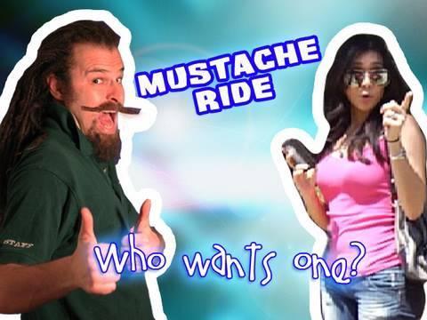 Mustache Ride - funny sketch comedy video