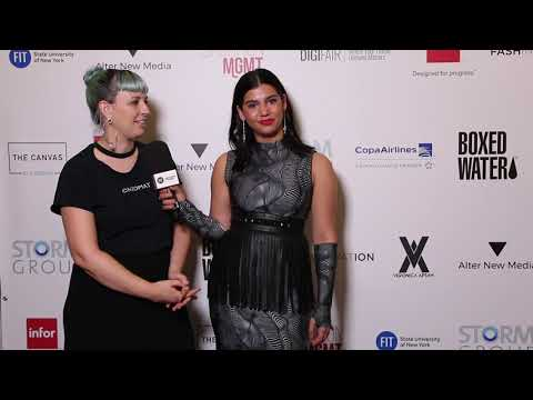 Blue Carpet Series: Interview with Becca Mccharen-Tran - YouTube
