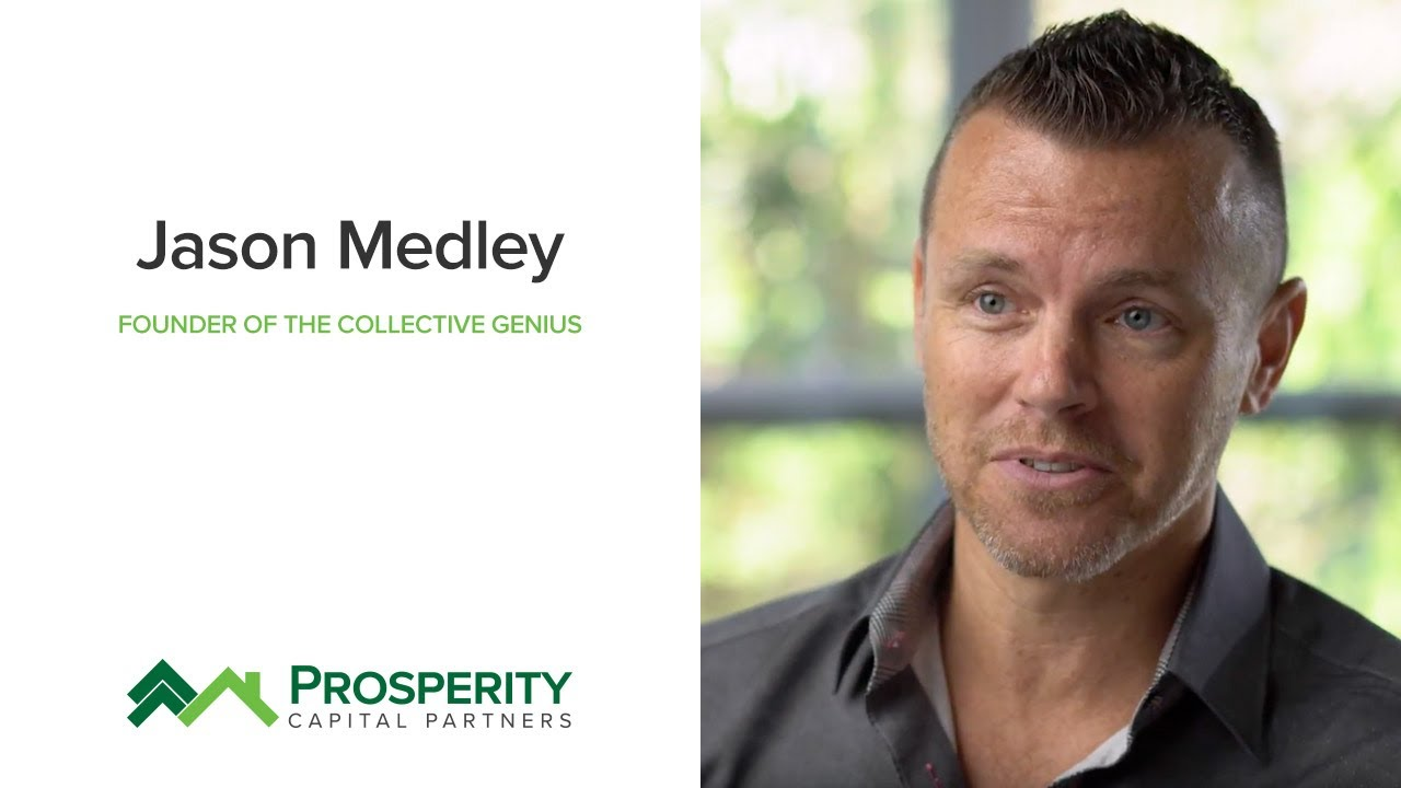 Jason Medley from The Collective Genius - Investor Testimonial