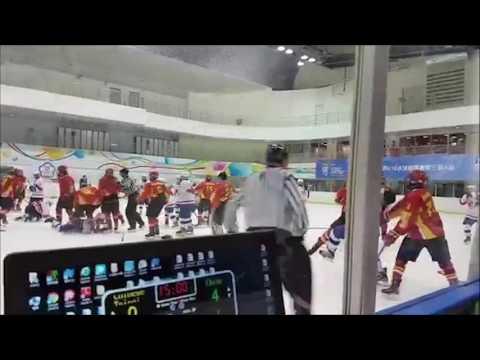 "U18冰球锦标赛 两岸""大战""台北上演 (画面来源:YouTube )"
