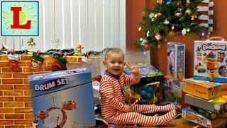 Подарки для Лучика на Новый Год 2017 от Деда Мороза Christmas gifts 2017 from Santa