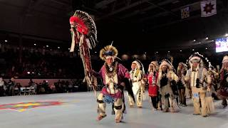 Grand Entry POWWOW 35th Annual Gathering Of Nations 2018 - Saturday April 28 1st