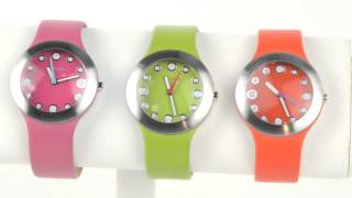 TOKYObay Gelato Watch - Vegan Leather Strap (For Women)