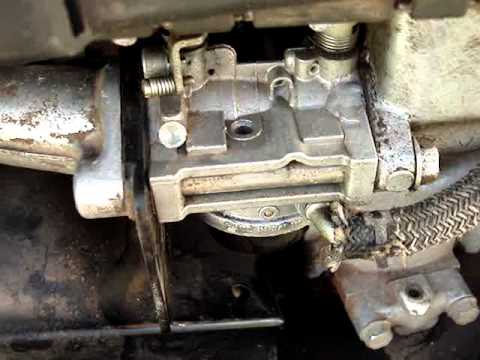 John Deere Cold Start And Carb Cleaning Youtube
