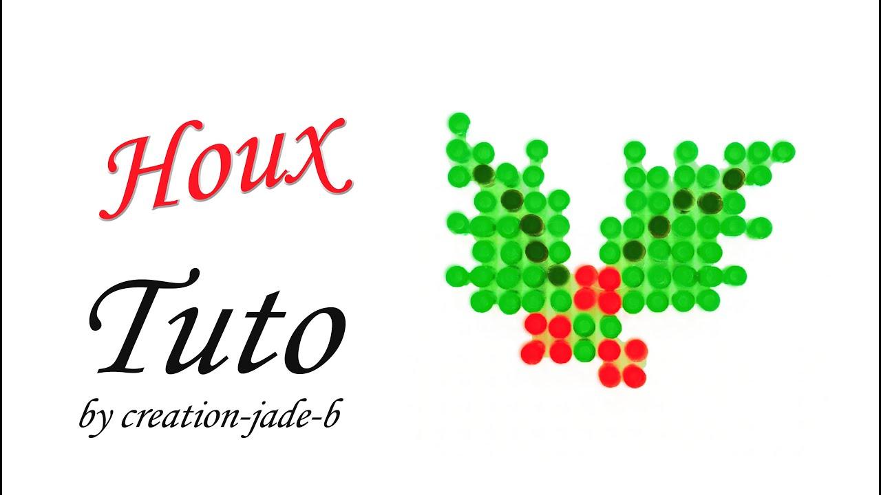 #C7040D Tuto Perles à Repasser (Hama) Décoration Houx De Noël  5849 tuto decoration de table noel 4096x2314 px @ aertt.com