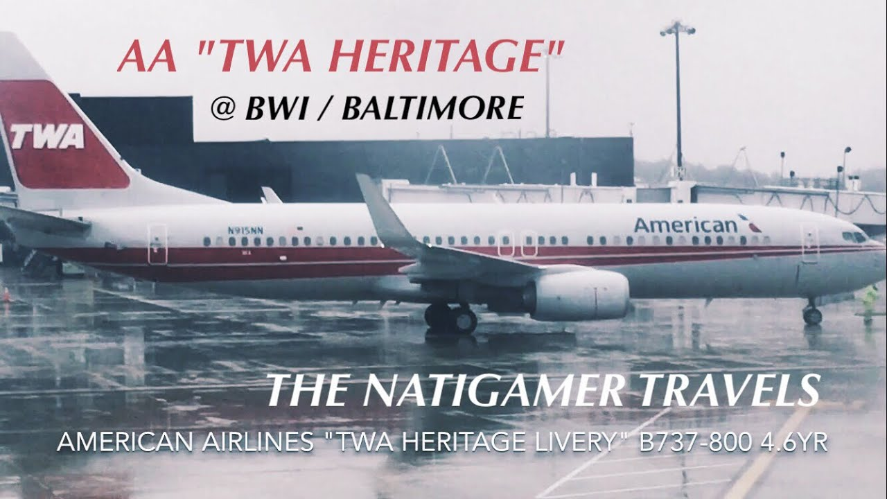 American Airlines Planespotting Quot Twa Heritage Quot Livery