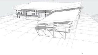 Работа в  Archicad - LIVE. #Проект загородного #дома в реальном времени.
