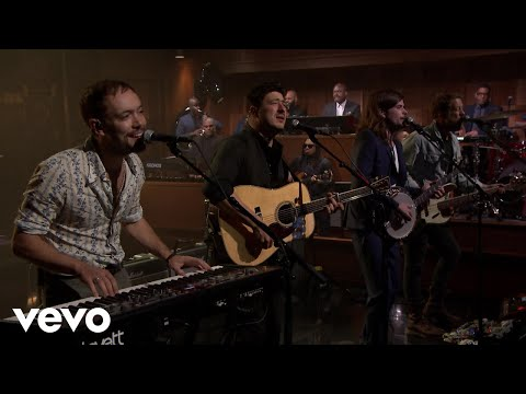 Mumford & Sons - Guiding Light (Live On The Tonight Show Starring Jimmy Fallon)