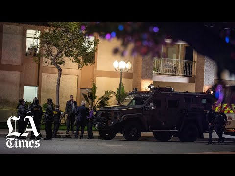 Orange gunman locked gates of office complex before killing 4; police say he knew victims