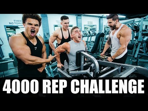 4000 REP ARM WORKOUT | DON'T TRY THIS!! | Zac Perna