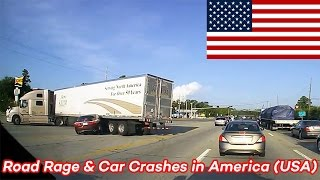 road rage and car crashes in america usa 2015 hd