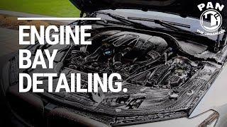 Engine Bay Detailing of my own BMW M550i !!  (ASMR)
