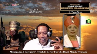 Shahrazad Ali Monogamy & Polygamy: Which Is Better For The Black Man & Woman In These Times.?