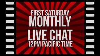 Monthly Live Stream (April 2019)