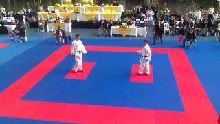 Jesus Costa Open 2nd round Part 2 Panemerican karate Tournament Medellin Colombia 2013