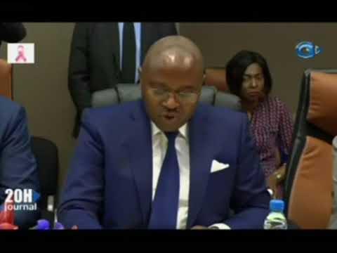 RTG - Signature de convention entre le gouvernement et la société d'énergie et d'eau du Gabon