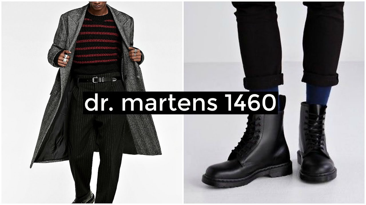 [VIDEO] - HOW TO STYLE DR. MARTENS 1460 | Men's Fashion | Lookbook | Daniel Simmons 1