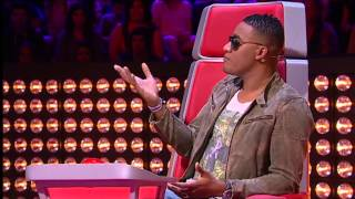 """Nádia Marques VS Luís Sequeira - """"Hedonism"""" Skunk Anansie - Batalha - The Voice Portugal - S2"""
