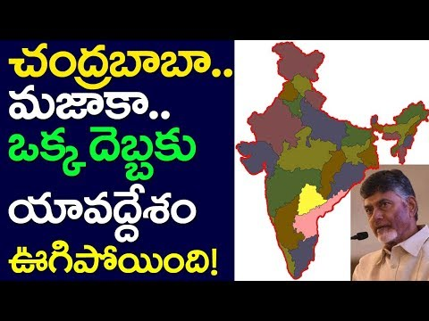 CM Chandrababu Naidu Creates Waves Across The Nation, AP CM