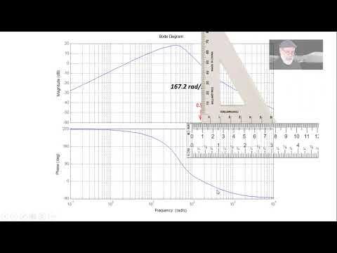 Using a ruler/triangle on semilog plots.