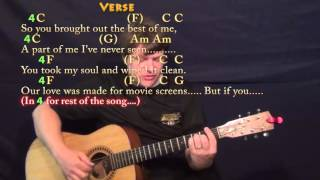 All I Want (Kodaline) Fingerstyle Guitar Cover Lesson with Chords/Lyrics