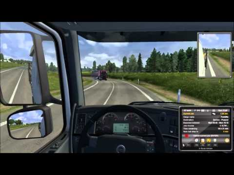 Let's Play Euro Truck Simulator 2 - 023 Luxembourg - Geneve