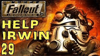 Fallout 1 -  Help Irwin (The Hub) - Part #29