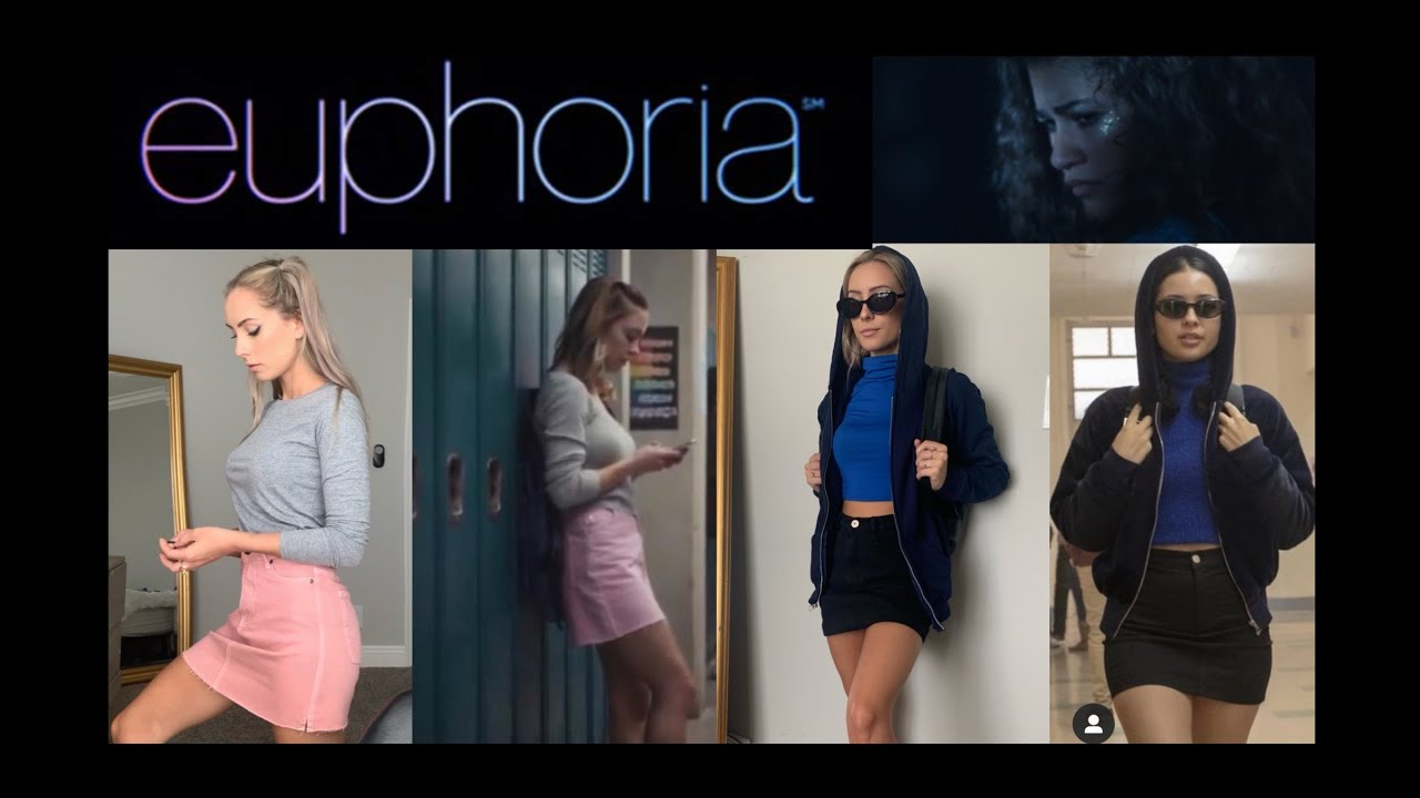 euphoria hbo turning myself into characters from euphoria
