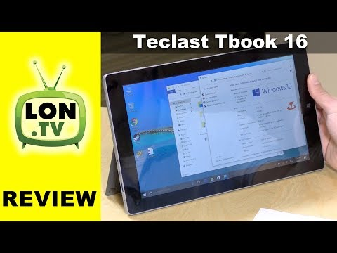 Teclast Tbook 16 Power Tablet PC Review - $260 Microsoft Surface Alternative