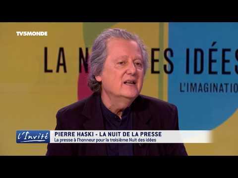 """Pierre HASKI : """"Le combat pour la liberté de la presse demain"""""""