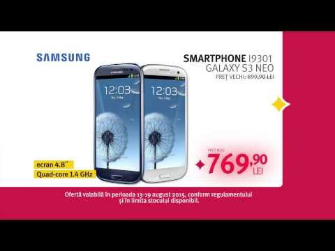 Reclama ALTEX Black Friday de Vara 2015 Telefon Samsung