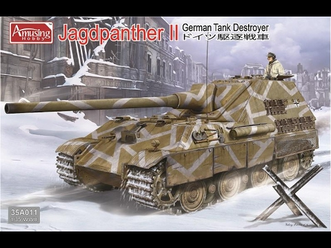 Amusing Hobby 1/35 Jagdpanther II - Build Review