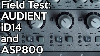 Скачать Field Test Audient ID14 And ASP800 SpectreSoundStudios DEMO